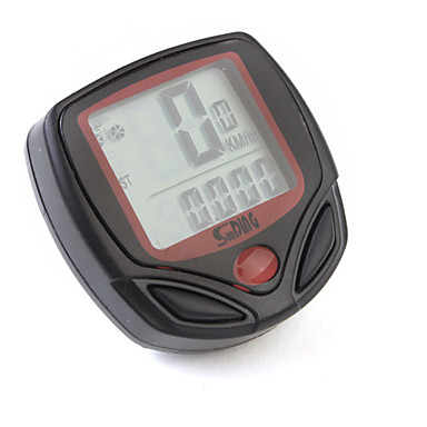 Bike Computer,Digital LCD Cycle Computer Bicycle Speedometer 13 Functions Odometer Speed