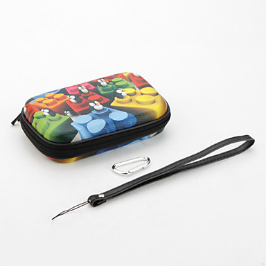 Protective Penguin Case with for Nintendo DSI and NDSL (Black)