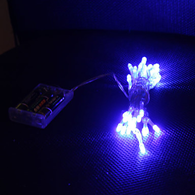 bande lumineuse led bleue 3m 2 modes clignotant normal. Black Bedroom Furniture Sets. Home Design Ideas