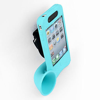 Novelty Bicycle Handfree Amplifier with Mount Case for iPhone 4 and 4S (Assorted Colors)