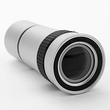 10X Zoom Telephoto Lens with Transparent Back Case for iPad2
