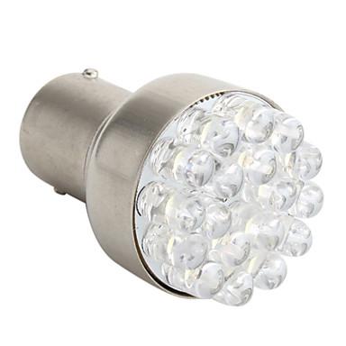 ampoule led blanche pour feux de freinage de voiture 12v 1157 1 5w 18 led de 322719 2017. Black Bedroom Furniture Sets. Home Design Ideas