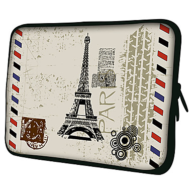Paris post card laptop sleeve case for macbook air pro hp dell sony toshiba asus acer 469944 - Funda para laptop ...