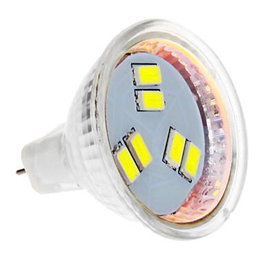 Faretti LED 6 SMD 5630 MR11 3W 270 LM Luce fredda DC 12 V del 912758 2017 a €2.39