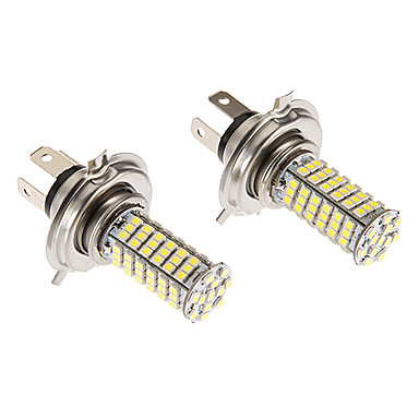 H4 7w 102x3020smd 580lm 5500 6500k cool white light led for Led autolampen