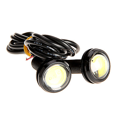 pair 3w high power led ultra thin led eagle eye light