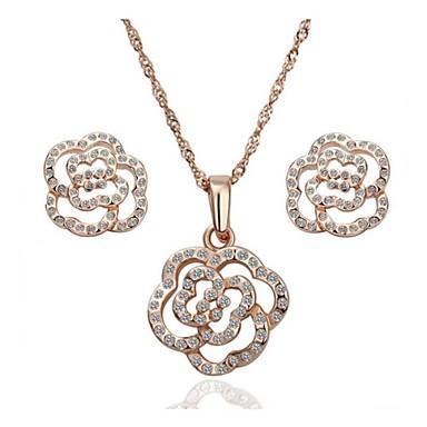 Ensembles de bijoux de fille de fleur