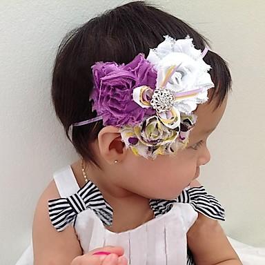 Kinderen babies peuters meisjes jongens elastische hoofdband flower hair decoration haarband for Idee deco slaapkamer baby meisje