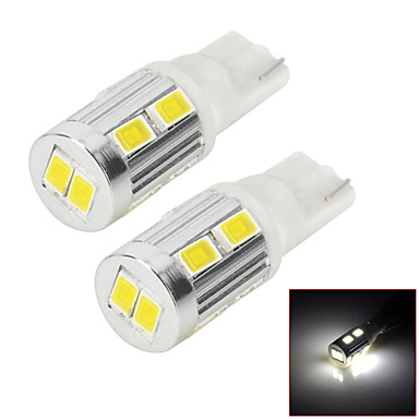 T10 5w 10x5730 smd 450lm 6000k led white light led voor for Led autolampen