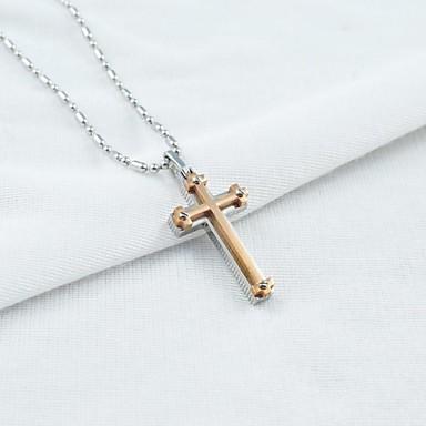 Heren ketting kruis