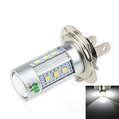 H7 15w 600 700lm 6500k 15 samsung2323 led wit licht for Led autolampen