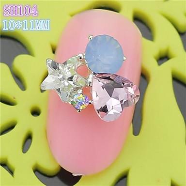 10st sh104 speciale ontwerp strass 3d legering nail art diy nagel schoonheid nagel decoratie - Decoratie murale ontwerp salon ...