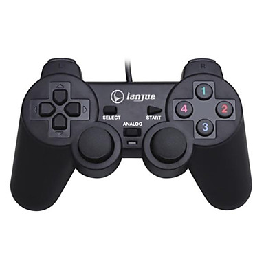 Lanjue L600 USB Shock PC Controller Компьютерная игра контроллер