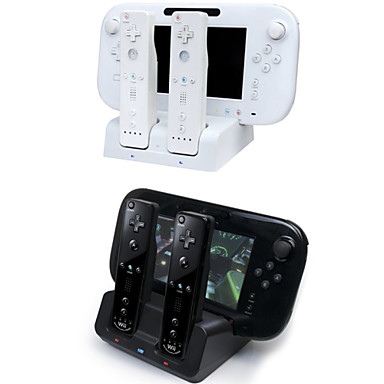 3 in 1 charger dock station stand charger for nintendo wii for Wii u tablet charger