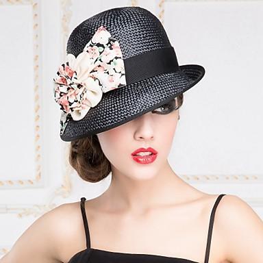 Cappello di paglia Donna Romantico/Casual Estate Paglia del 3734734 2017 a €28.99