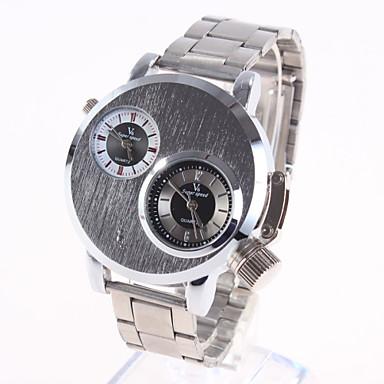 Tonda quarzo fascia della lega quadrante dorato orologio for Orologio della samsung