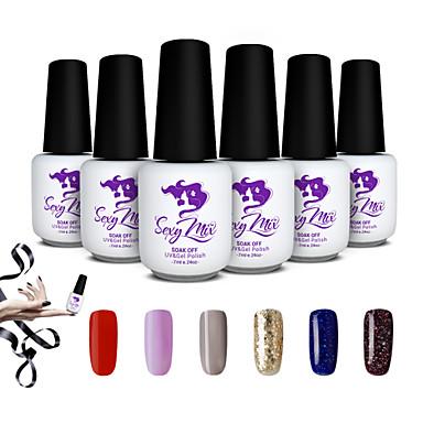 sexy mix 7 ml gel polish nagellak voor nail art gel kleur. Black Bedroom Furniture Sets. Home Design Ideas