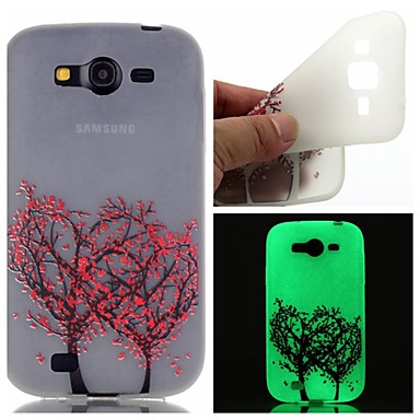 Samsung Galaxy Case Glow Dark / Pattern Back Cover Tree TPU SamsungOn 7 5 J3 J1 Ace Grand Prime