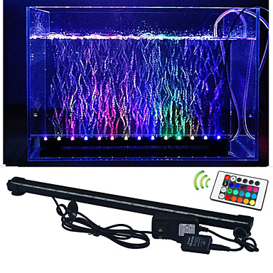 6w led aquarium verlichting 50 smd 5050 lm rgb op afstand. Black Bedroom Furniture Sets. Home Design Ideas
