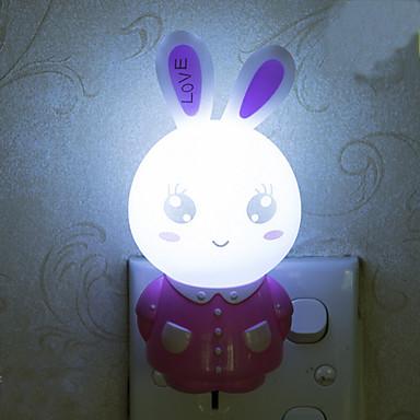 sch ne kaninchen intelligente licht gesteuert notfall led nachtlicht f r kinderzimmer. Black Bedroom Furniture Sets. Home Design Ideas