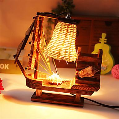 borstel pot licht zeilen lamp decoratie bureaulamp slaapkamer lamp ...