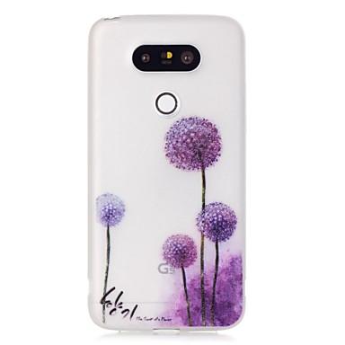 Purple Dandelion Luminous Dream Catcher Pattern Sofe TPU Case LG G5