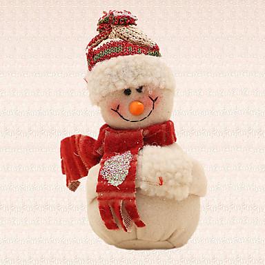 1pc beige pendentif de bonhomme de neige de no l pendentif arbre maison d coration partie. Black Bedroom Furniture Sets. Home Design Ideas