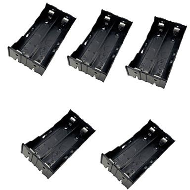 5pcs 2 18650 mont s en parall le et en s rie cas batterie bo tier de la batterie avec la bo te. Black Bedroom Furniture Sets. Home Design Ideas