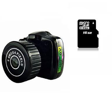 Mini Camera HY2000 Smallest 16G MicroSD