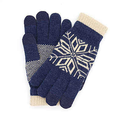 Original Xiaomi Wool Touch Gloves (Grey, Blue, or Beige)
