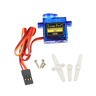 Mini 9G Servo with Accessories - Translucent Blue