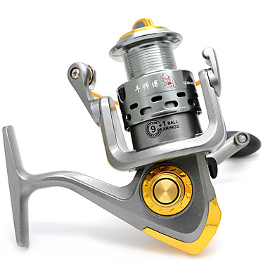 Anmuka Fishing Reel Spinning Reels 5.11 91 Ball Bearings Right-handed / Left-handedSea Fishing / Ice Fishing / Spinning / Jigging Fishing