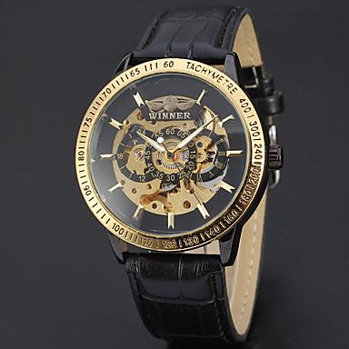 Buy Men's Women's Unisex Sport Watch Dress Skeleton Fashion Wrist watch Mechanical Automatic .