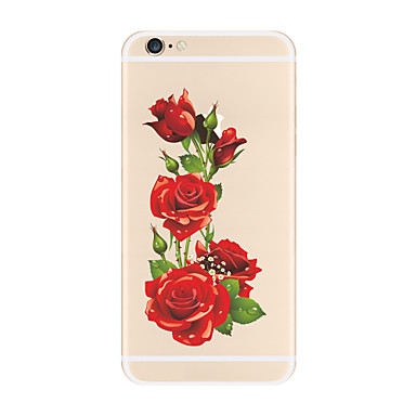 Beautiful Pattern Flower Soft TPU Apple iPhone 7 Plus 6s 6 iPhone5 SE 5C iphone 4