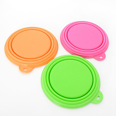 Cat Dog Bowls  Water Bottles Pet Bowls  Feeding Waterproof Portable Foldable Red Green Blue Pink Yellow Orange Silicone
