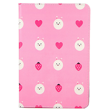 For Apple iPad (2017) Pro 9.7'' Case Cover with Stand Flip Pattern Full Body Case Cartoon Fruit Heart Hard PU Leather  Air 2 Air ipad2 3 4 mini1 2 3/4