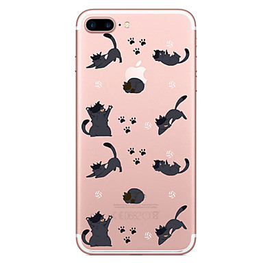 Case For Apple iPhone 7 7 Plus Case Cover Animal Pattern Painted High Penetration TPU Material Soft Case Phone Case For iPhone 6S 6 Plus