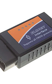 OBDII Bluetooth Car Diagnostic Cable - Black + Blue + Orange (DC 12V)