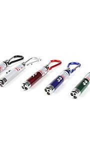 Nøgleringslommelygter LED 2 Tilstand Lumens Andre LR44 Andre , Flerfarvet Plastik