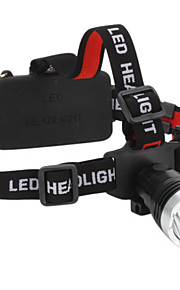 Lanternas LED / Lâmpadas Frontais LED 3 Modo 160 Lumens Prova-de-Água / Recarregável / Super Leve / Tamanho Compacto / Tamanho Pequeno
