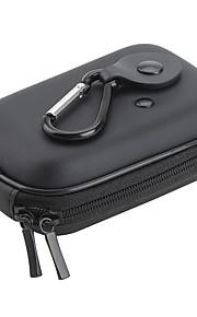 "halvstiv overflade kamera taske med karabinhage (4 ""x 3"")"