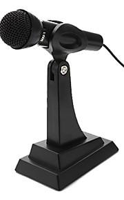 Desktop Adjustable Multimedia Microphone (Silver)