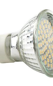 3W GU10 LED-spotpærer MR16 60 SMD 3528 230 lm Varm hvit / Naturlig hvit AC 220-240 V