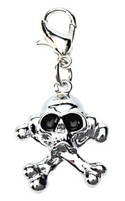 Dog tags Horrific Skull Style Collar Charm for Dogs Cats