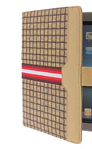 grassmat Maserung pu Ledertasche mit Ständer für iPad 2/3/4 (farblich sortiert)