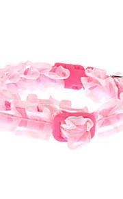 Einfache Lace-Halsband für Hunde (Farbe sortiert)