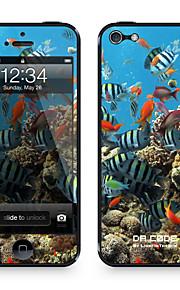"""Da Code ™ Skin voor iPhone 4/4S: """"Vissen"""" (Animals Series)"""