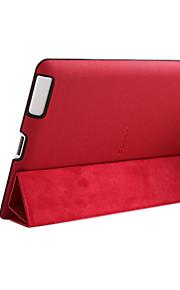 Mikroriller Mønster PU lærveske med stativ for iPad 4 & den nye iPad og iPad 2 (assorterte farger)