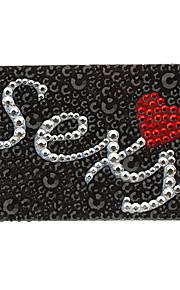 Sexy Pattern Jewelry Protective Body Sticker for Cellphone
