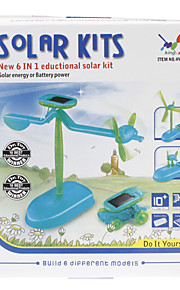 6-i-1 DIY Novelty Opgraderet Pædagogisk Solar Assembly Toys